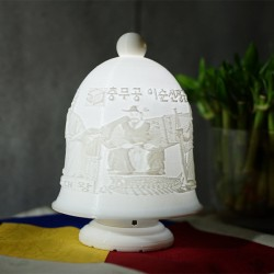 ((맞춤상품)) Bell Type 3D Light(이미지+음성모듈+USB충전/티라이트)