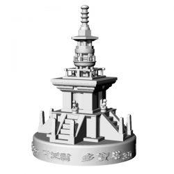 다보탑 3D Light(음성모듈+문구삽입+USB충전)