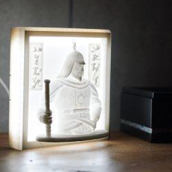 ((자체제작상품+음성모듈추가가능))이순신 장군 LED  액자  Type 3D Light