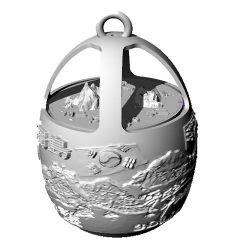 ((기획상품))독도등 고리형 3D Light - 달걀형(이미지+음성모듈+USB충전)