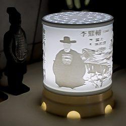 ((맞춤상품)) 원통형  Stand  Type 3D Light(이미지+음성모듈+USB충전)