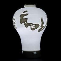((맞춤상품)) 도자기 매병 Type의 3D Light(이미지+음성모듈+USB충전)