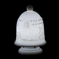 ((기획상품)) 기도등/기독교 3D Light(이미지+음성모듈+USB충전/티라이트)