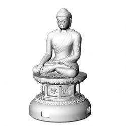 ((기획상품))석굴암 부처님 3D Light(음성모듈+문구삽입+USB충전)