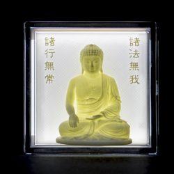 ((기획상품))부처님  LED  액자 3D Light(음성모듈+문구삽입)