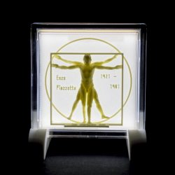 ((기획상품))비트루비안맨 LED  액자 3D Light(음성모듈+문구삽입)