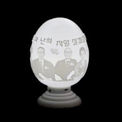 ((맞춤상품)) 달걀형 3D Light(이미지+음성모듈+USB충전/티라이트)
