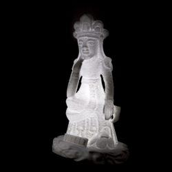 ((기획상품))역사를 소장하는 보물643호 반가사유상 입체조각 3D Light(음성모듈+문구삽입+USB충전)